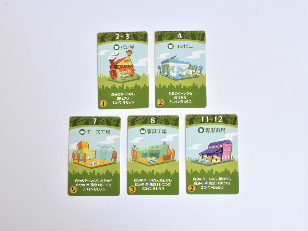画像: 商業カード (筆者撮影)