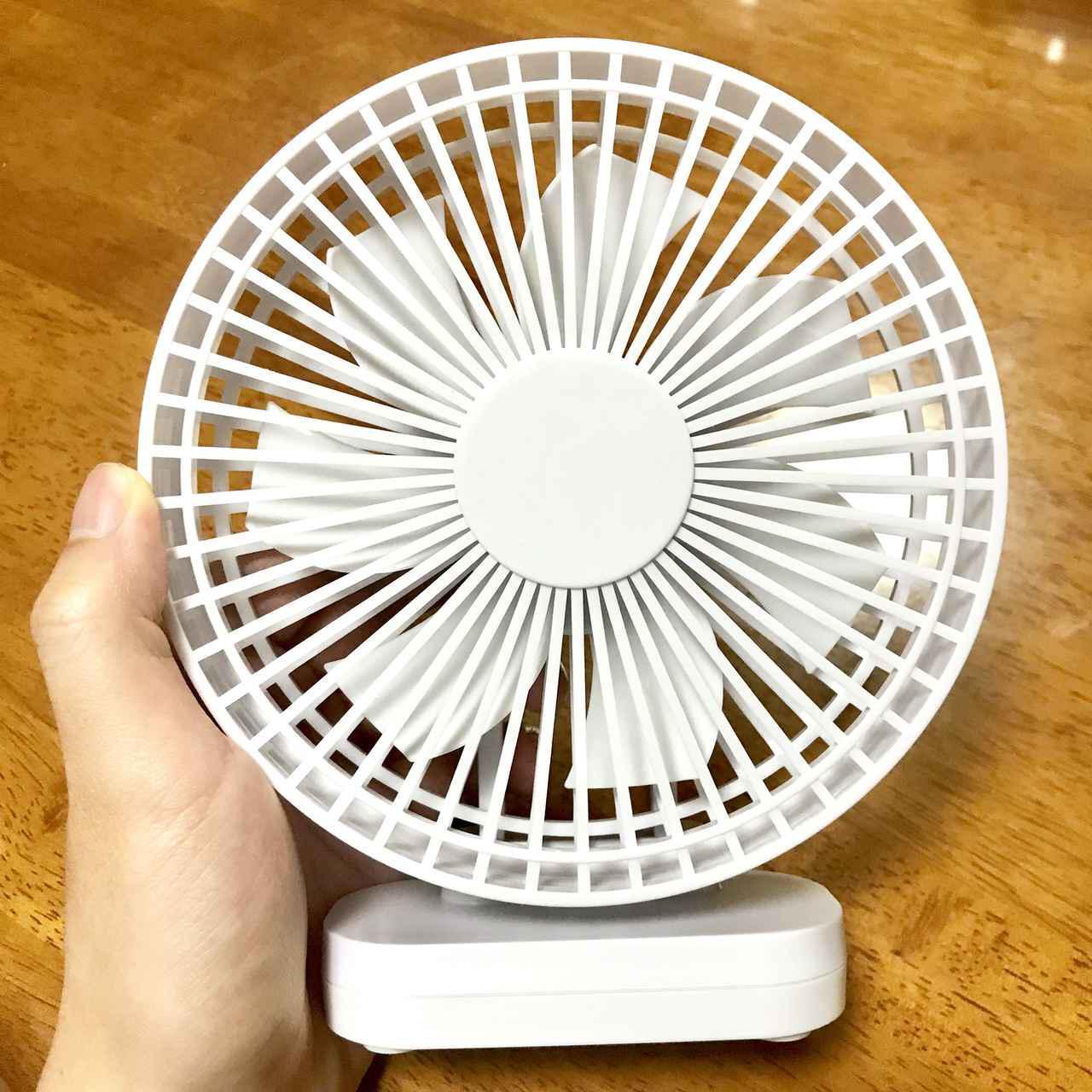 画像: 【ポータブル扇風機置き型タイプ】携帯扇風機(ポータブルファン)のメリット・デメリット テント内用や風量重視の人におすすめ