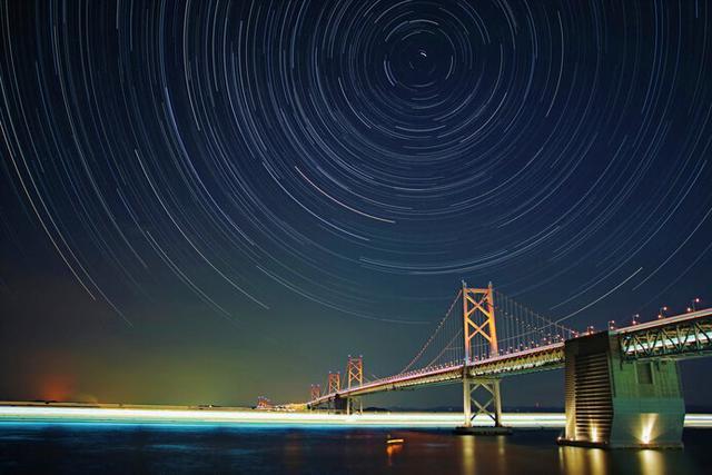画像: 見慣れた景色の向こうに続く宇宙空間…(写真はイメージです)