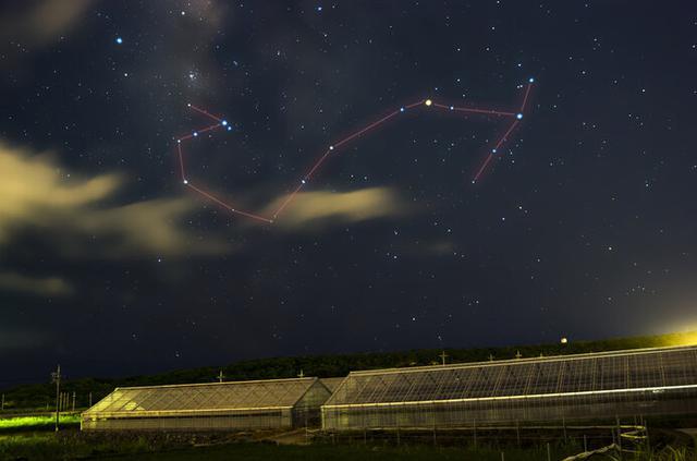 画像: さそり座で赤く輝くのは一等星のアンタレス (写真はイメージです)
