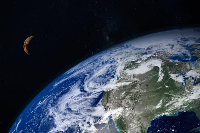 画像: 想像力をふくらませて地球の外を感じてみよう(写真はイメージです)