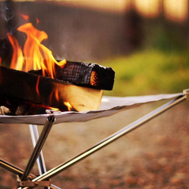 画像: キャンプで焚き火するなら! 火の粉に強い「難燃素材」のアウトドアチェアがおすすめ