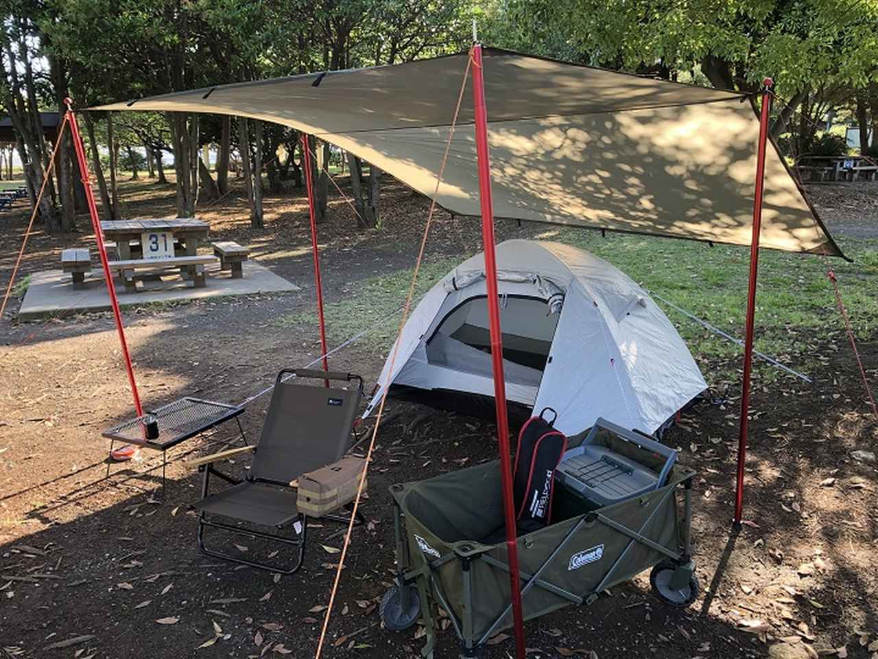 画像: みーこパパ推薦!ソロキャンプで使えるおすすめテント6選 - ハピキャン(HAPPY CAMPER)