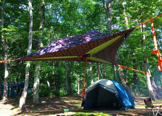 画像: 宙に浮く新感覚テント「テントサイル」は大人の秘密基地!特徴や魅力と共におすすめ商品を紹介 - ハピキャン(HAPPY CAMPER)
