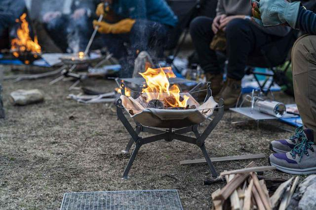 画像: 【焚き火台】ソロキャンプ・ツーリングに! コンパクト&軽量さ重視のおすすめ5選 - ハピキャン(HAPPY CAMPER)