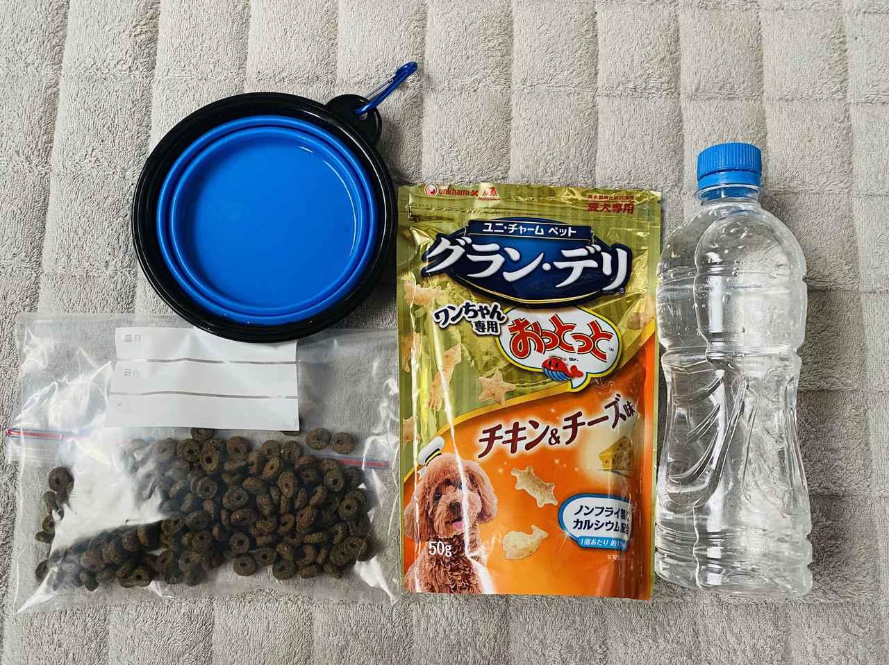 画像: 愛犬とのキャンプに必要な物①食事編