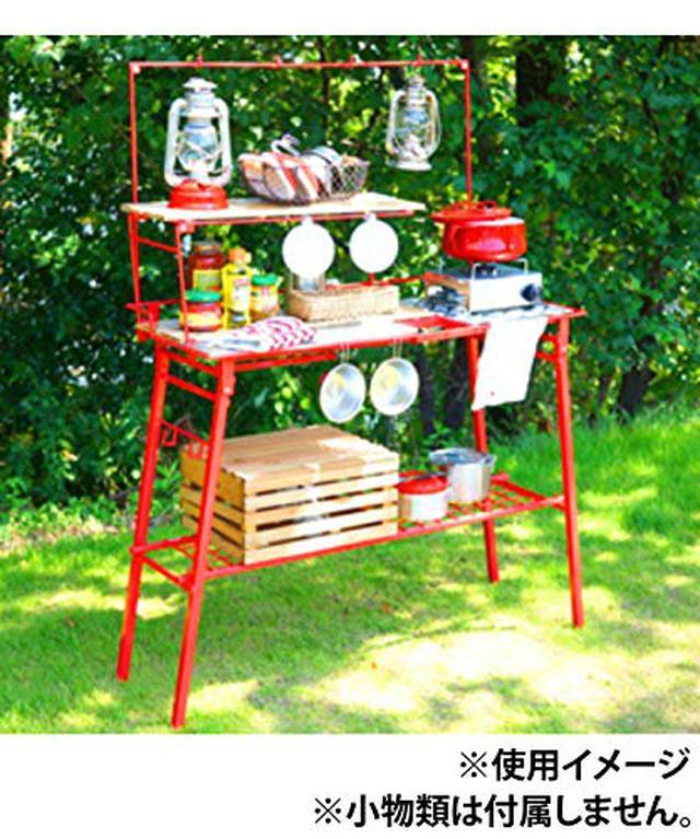 画像3: 【注目ギアレビュー】ネイチャートーンズのキッチンカウンターテーブルをみーこパパがキャンプで使ってみた