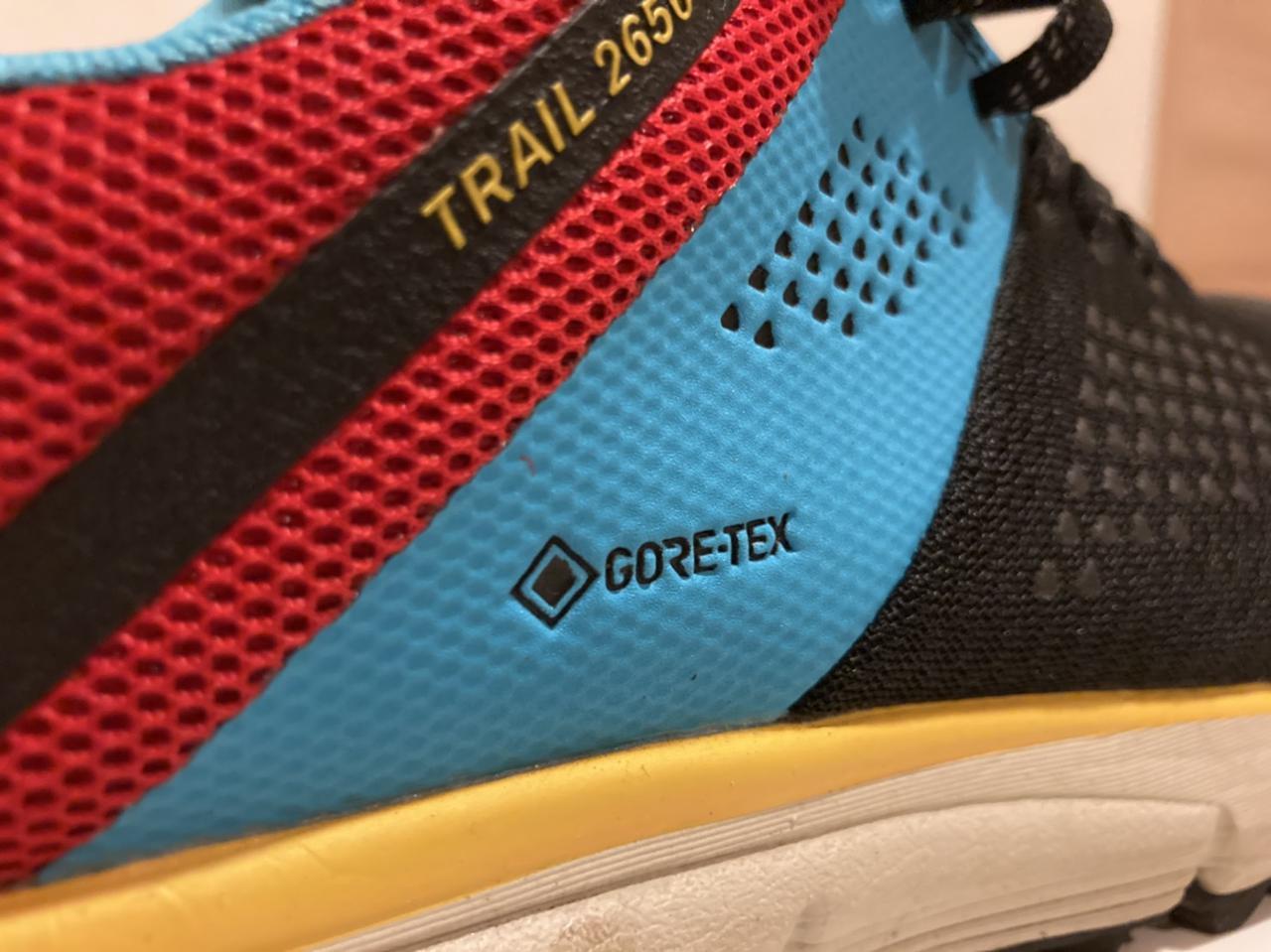 画像: 筆者の「Danner Trail 2650 GTX」にもしっかりと「GORE-TEX」ロゴが刻印されています (筆者撮影)