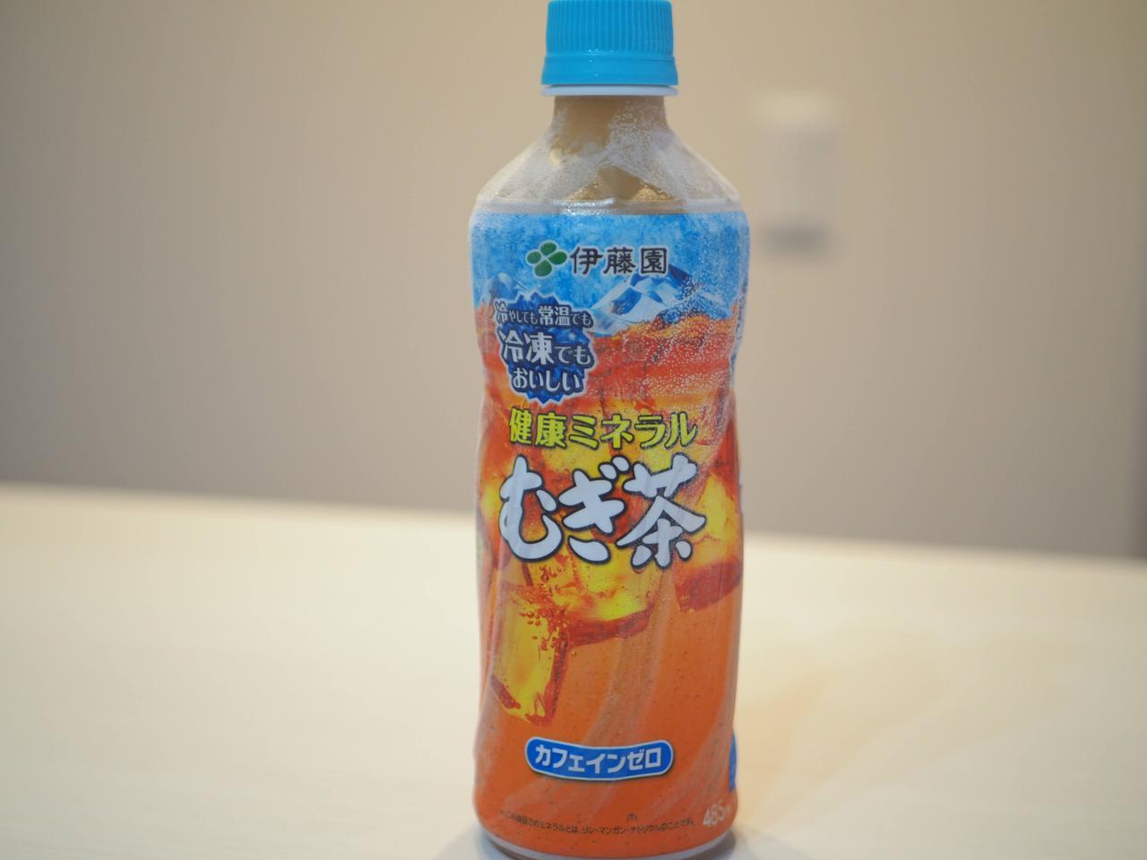 画像: 冷凍でも美味しい麦茶(画像:筆者撮影)