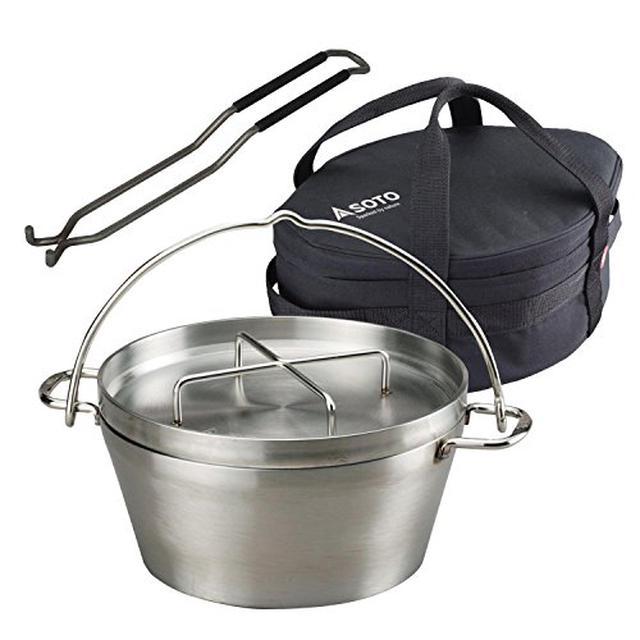 画像2: 【レシピ公開】簡単オニオングラタンスープの作り方 冷凍玉ねぎを活用してダッチオーブンで放置するだけ!