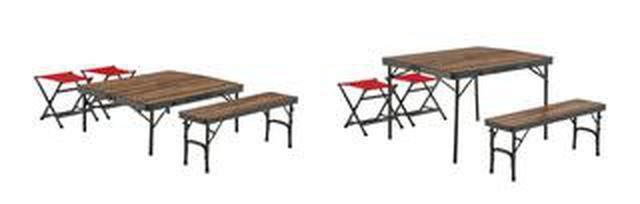 画像1: 【注目リリース】家族でゆったり楽しめる、LOGOS(ロゴス)の「Tracksleeperテーブル」シリーズが出た!
