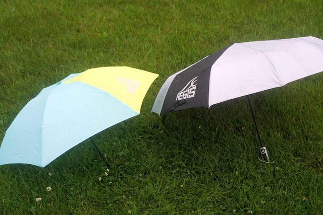 画像: 【ワークマンで雨対策】サリーが折りたたみ傘2種類を徹底比較! 超軽量コンパクトとタフでビッグサイズ、どちらが好み? - ハピキャン(HAPPY CAMPER)