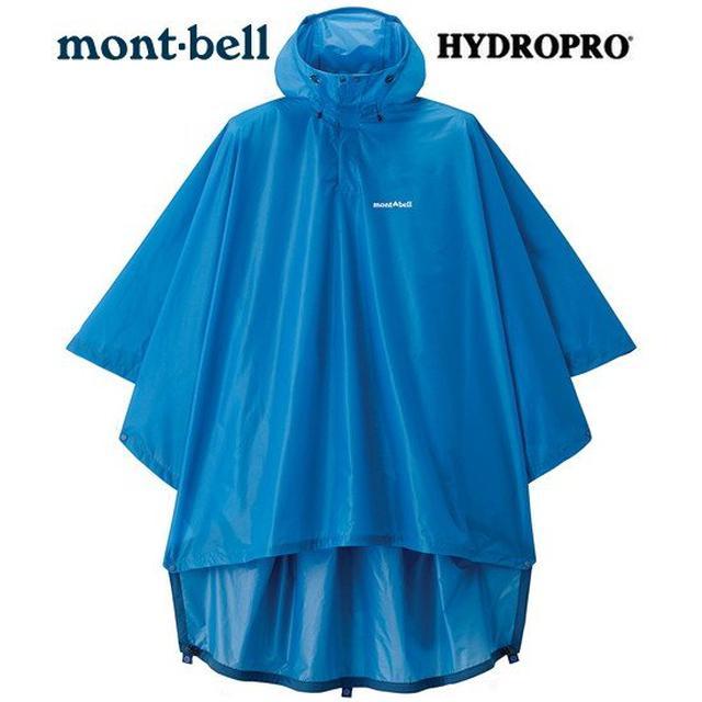 画像3: 【雨対策】モンベルやワークマンなどおすすめレインポンチョ8選 メンズ/レディース兼用可