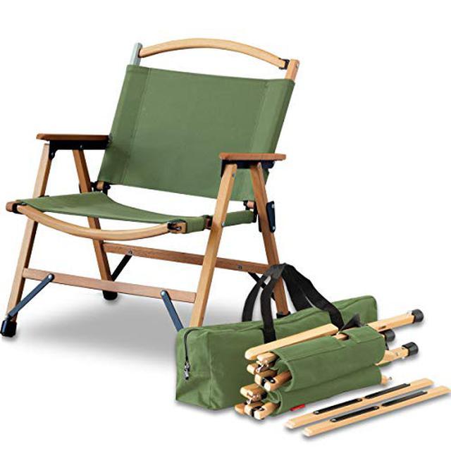 画像2: 【ハイランダー&フィールドア】1万円以下で買える木製チェアを徹底比較してみた!