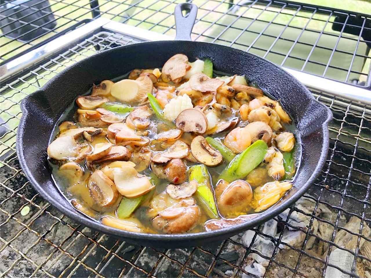 画像: 【レシピ公開】おすすめの蓋付きスキレットや選び方・料理を紹介 シーズニングも解説 - ハピキャン(HAPPY CAMPER)