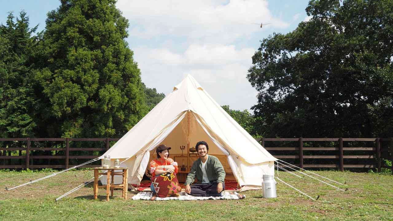 画像1: キャンプをもっと身近に 『キャンプ民泊NONIWA』を運営する野あそび夫婦を紹介 - ハピキャン(HAPPY CAMPER)