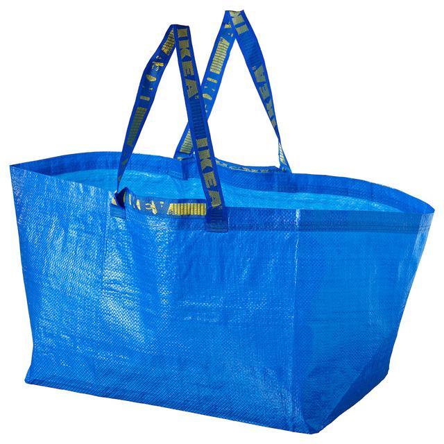 画像: FRAKTA フラクタ キャリーバッグ L, ブルー, 71 l - IKEA