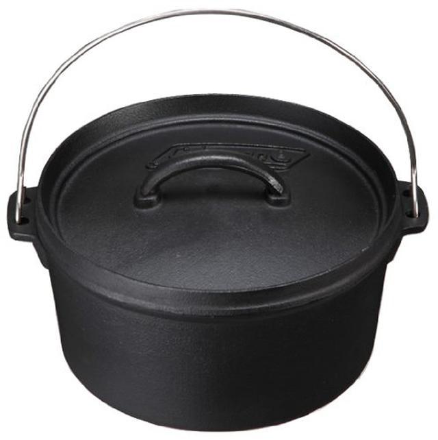 画像1: 【コールマン】でおうちキャンプ!おすすめ調理器具6選 スキレットやダッチオーブンなど