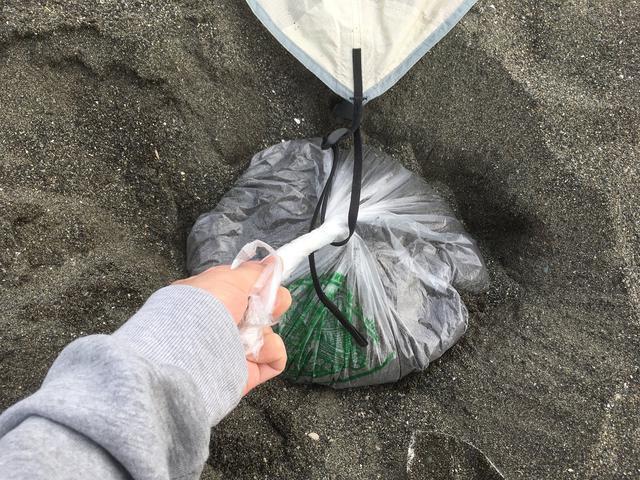 画像: 筆者撮影 ビニール袋の大きさは、一般的なスーパーで使うモノだと思ってもらえれば!