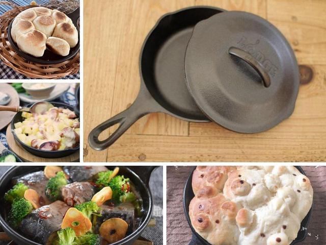 画像: 自分にぴったりな大きさ・深さのスキレットをGETしよう! アヒージョやパンなどの簡単おいしいキャンプ飯レシピが豊富で使い方がいろいろ