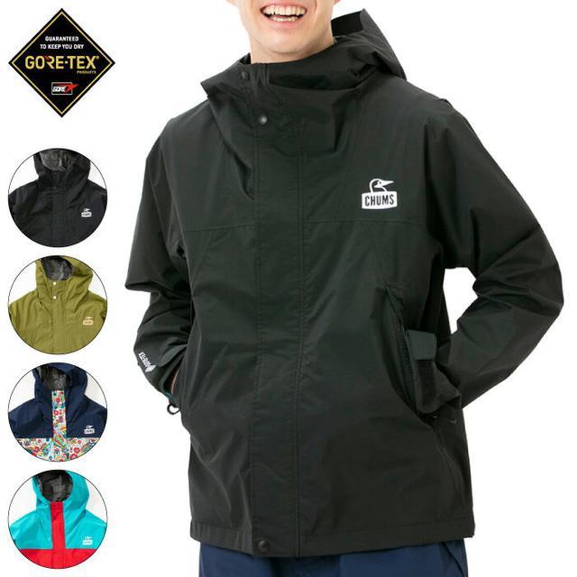 画像2: CHUMS(チャムス)初! ゴアテックスの防水ジャケットや帽子を一挙紹介!