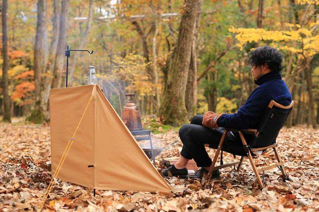 画像: QUICKCAMP(クイックキャンプ)の『焚火陣幕』でワンランク上の焚き火を楽しもう! - ハピキャン(HAPPY CAMPER)