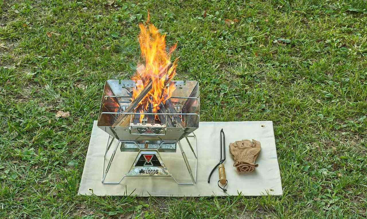 画像: 【注目リリース】火の粉から大地を守る! LOGOS(ロゴス)より断熱性に優れた「耐火・断熱シート」シリーズが登場。 - ハピキャン(HAPPY CAMPER)