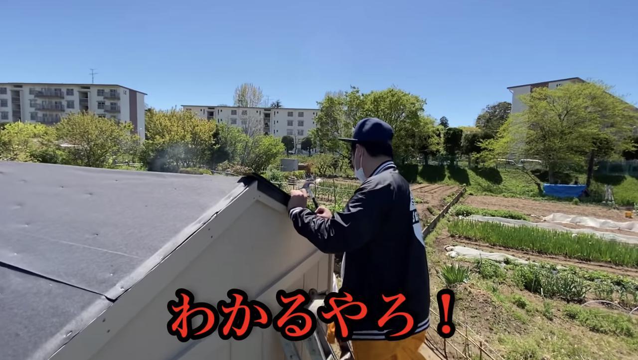 画像: 【タケト家の秘密基地作り#18】より 怒られまくってるタケトさん...
