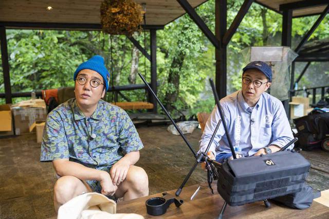画像: photographer 吉田 達史 話をしっかり聞くおぎやはぎのお二人