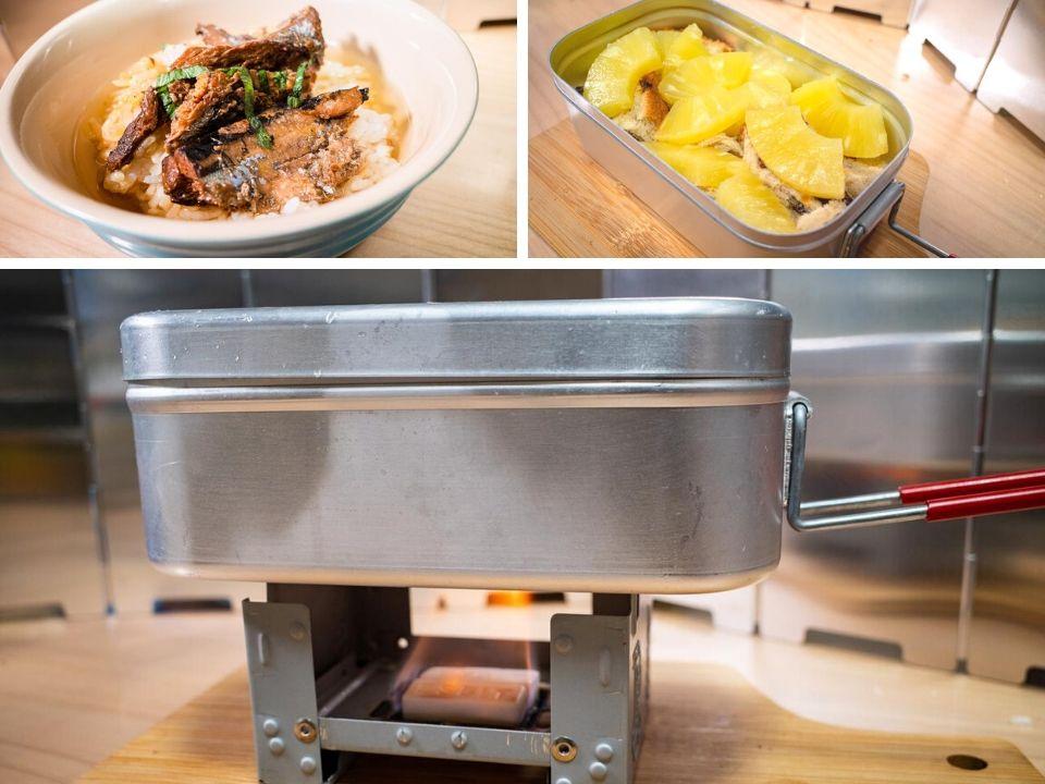 画像2: 【メスティン簡単レシピ】ほったらかしでOK! 自動炊飯で「ひつまぶし」 デザートレシピもご紹介 - ハピキャン(HAPPY CAMPER)