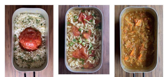 画像1: 【メスティン初心者向け】固形燃料1個で作る簡単トマト料理 キャンプにぴったりな夏レシピ3選