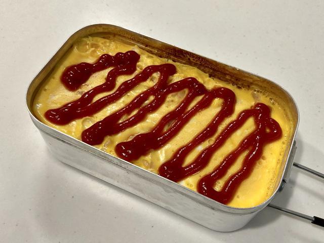 画像2: 【メスティンだけでできちゃうレシピ3選】シーフードピラフ・オムライス・ケーキを紹介 - ハピキャン(HAPPY CAMPER)