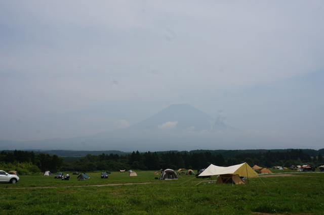 画像: 筆者撮影「雄大な富士山を望めるフリーサイト」