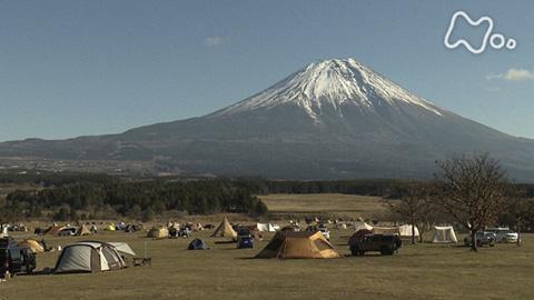 画像: ドキュメント72時間 「真冬のキャンプ場 富士山を眺めながら」 -NHKオンデマンド