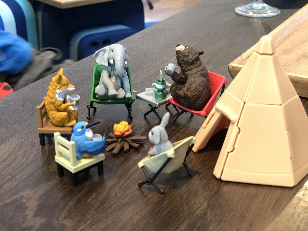 画像: 【特別プレゼント】「どうぶつキャンプ」5種を抽選で2名様にプレゼント!