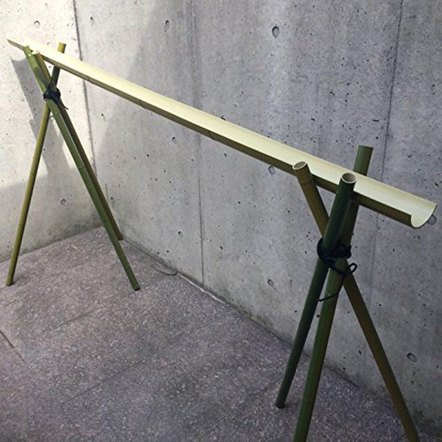 画像3: 【流しそうめんDIY】本格的な竹を使った流しそうめん用『流し竹』のDIYをご紹介!キャンプ場でも楽しめます!