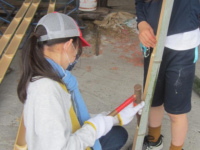 画像5: 【流しそうめんDIY】本格的な竹を使った流しそうめん用『流し竹』のDIYをご紹介!キャンプ場でも楽しめます!