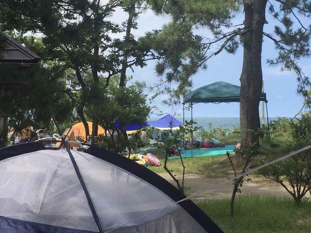 画像: 【おすすめキャンプ場38】目の前が海水浴場!「雨晴キャンプ場」で絶景とビーチキャンプを楽しむ - ハピキャン(HAPPY CAMPER)