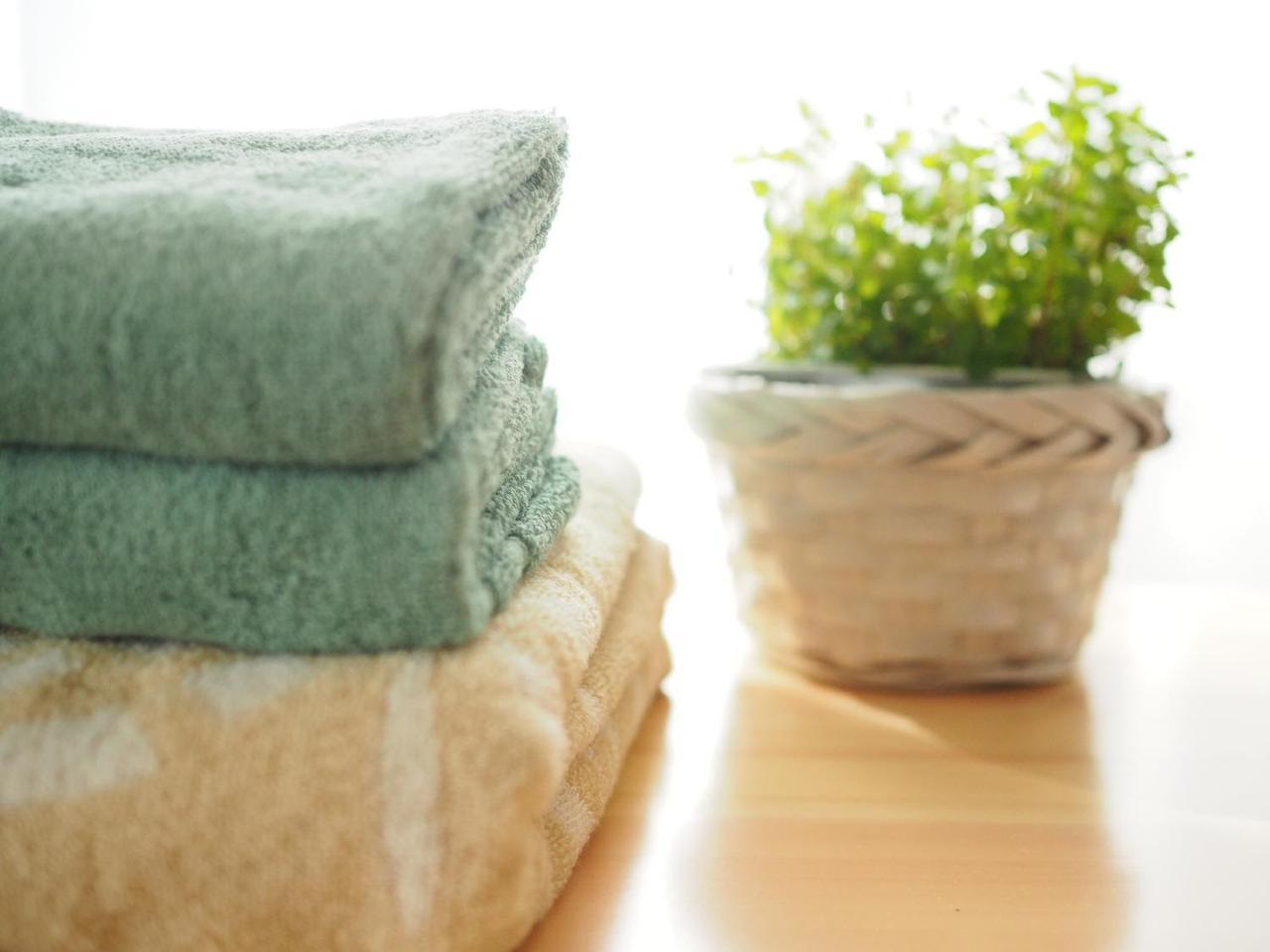 画像: 【海水浴に必須な持ち物その2】バスタオル×2・ハンドタオル
