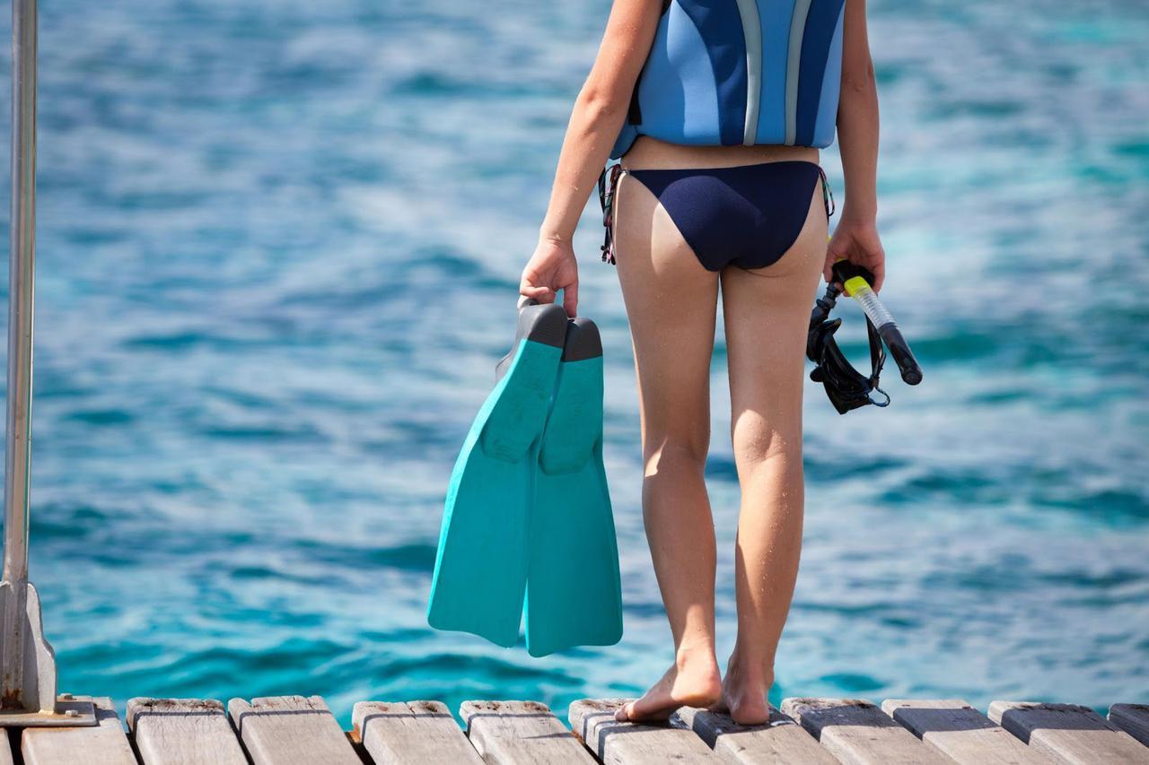 画像: 海水浴でより泳ぎやすくしてくれる『フィン』 ハイスペックモデルは体との一体感が違う!