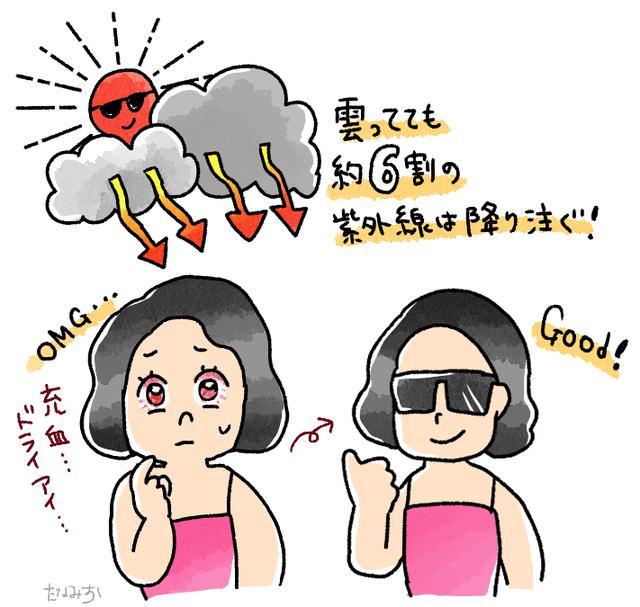 画像: 【サングラスが必要な理由】おしゃれのためだけじゃない! 意外と怖い!?紫外線の話