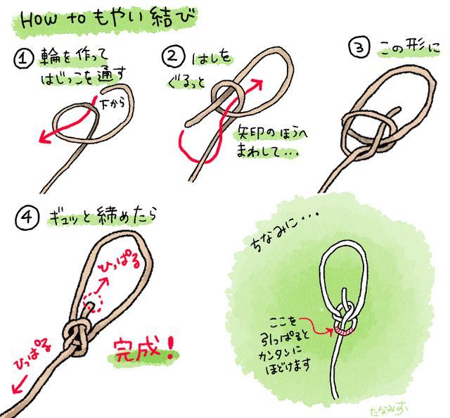 画像2: ヘキサタープの張り方・ロープワークのやり方解説! 初心者でも出来るロープの結び方
