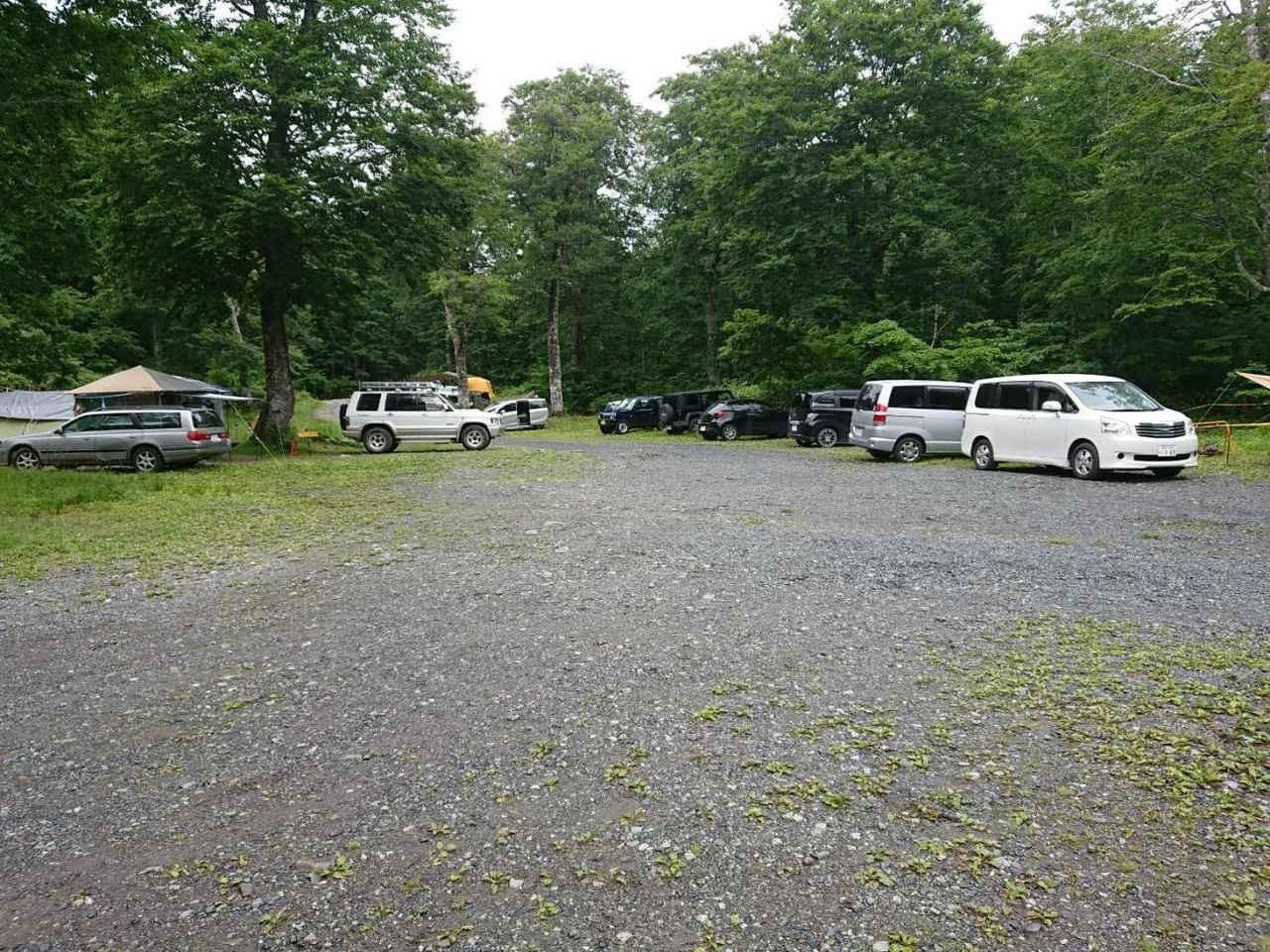 画像1: 筆者撮影 キャンプ場の様子