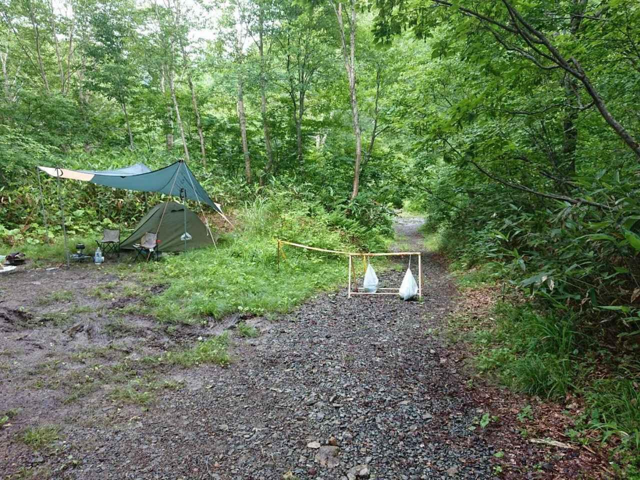 画像2: 筆者撮影 キャンプ場の様子