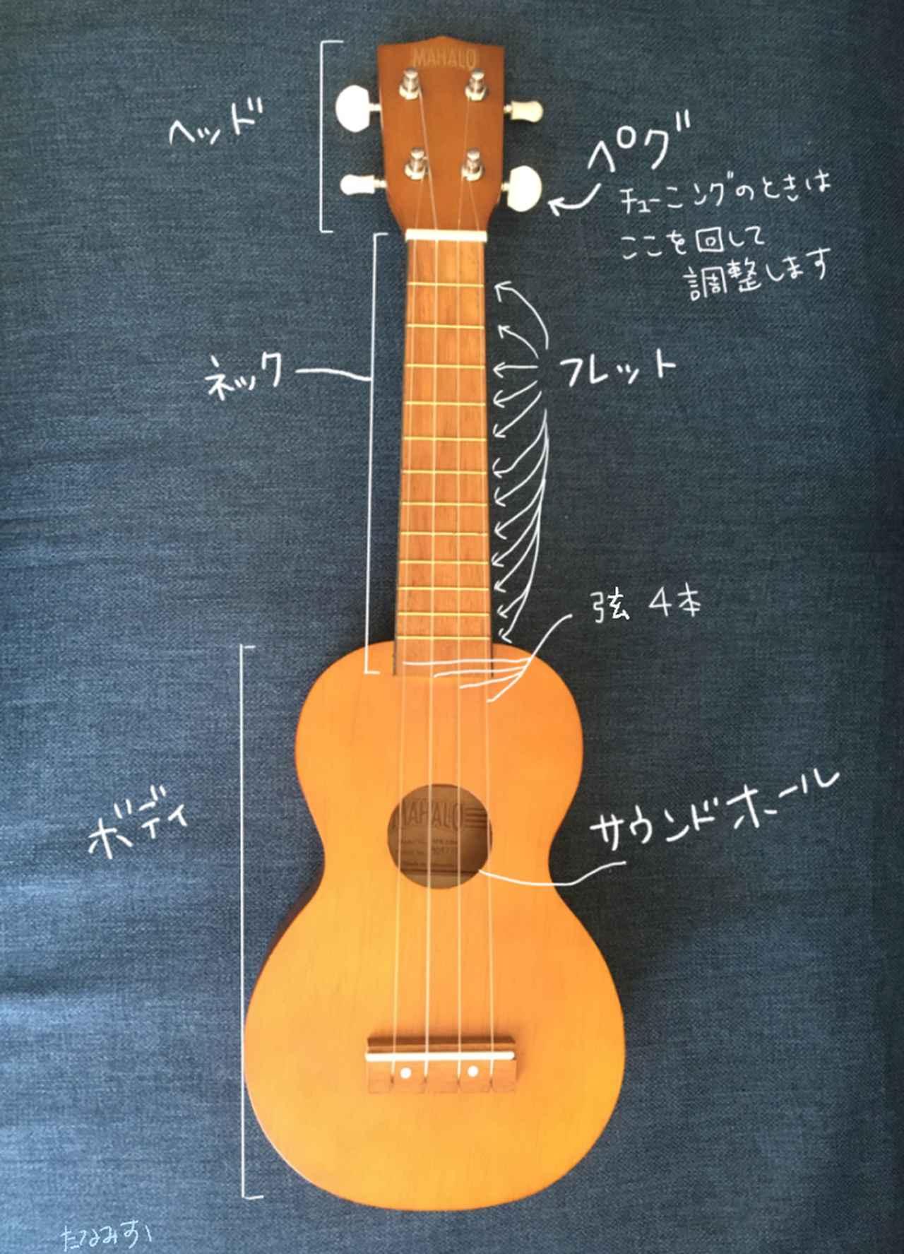 画像2: 【初心者にウクレレがおすすめな理由】安い・軽い・簡単の3拍子で楽器初心者にぴったり! おうち時間に練習して弾けるようになる