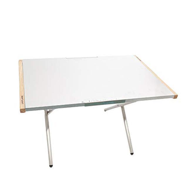 画像2: 【筆者愛用】ユニフレーム「焚き火テーブル」は熱に強い!最強サイドテーブルの魅力をレビュー