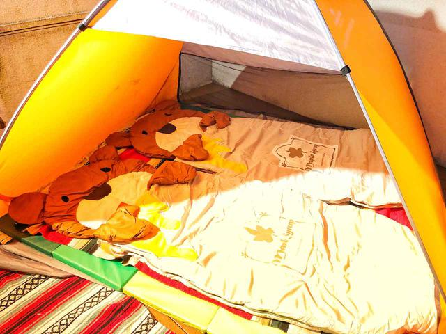 画像: 【ベランピング】ポップアプテント×Logos(ロゴス)くまさんシェラフで子供と本当にテラスで1泊してみた! - ハピキャン(HAPPY CAMPER)