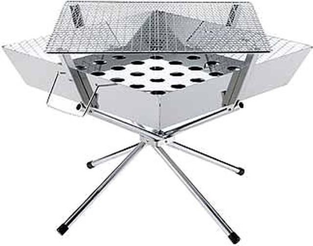 画像7: 尾上製作所(ONOE)「マルチファイアテーブル」でBBQや焚き火を安全に!ファミリーに最適
