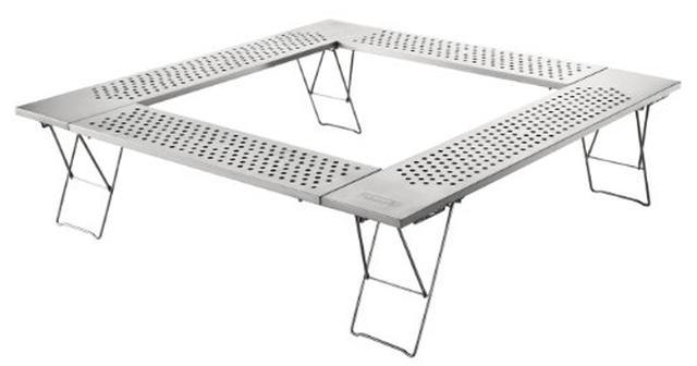 画像6: 尾上製作所(ONOE)「マルチファイアテーブル」でBBQや焚き火を安全に!ファミリーに最適