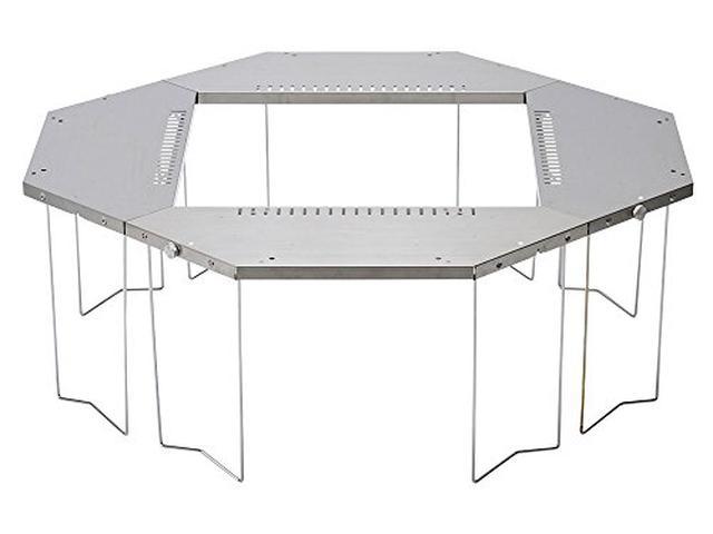 画像5: 尾上製作所(ONOE)「マルチファイアテーブル」でBBQや焚き火を安全に!ファミリーに最適